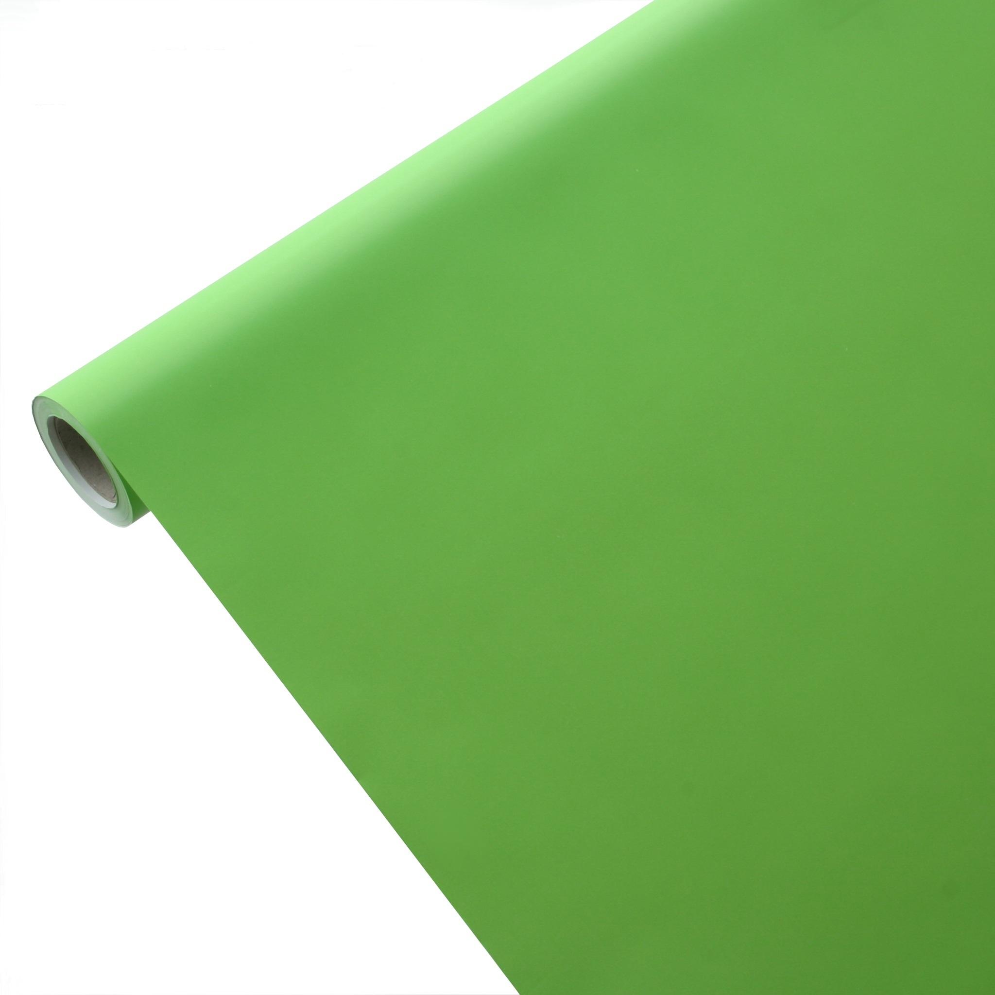 50m*1,00m JUNOPAX® Geschenkpapier apfel-grün
