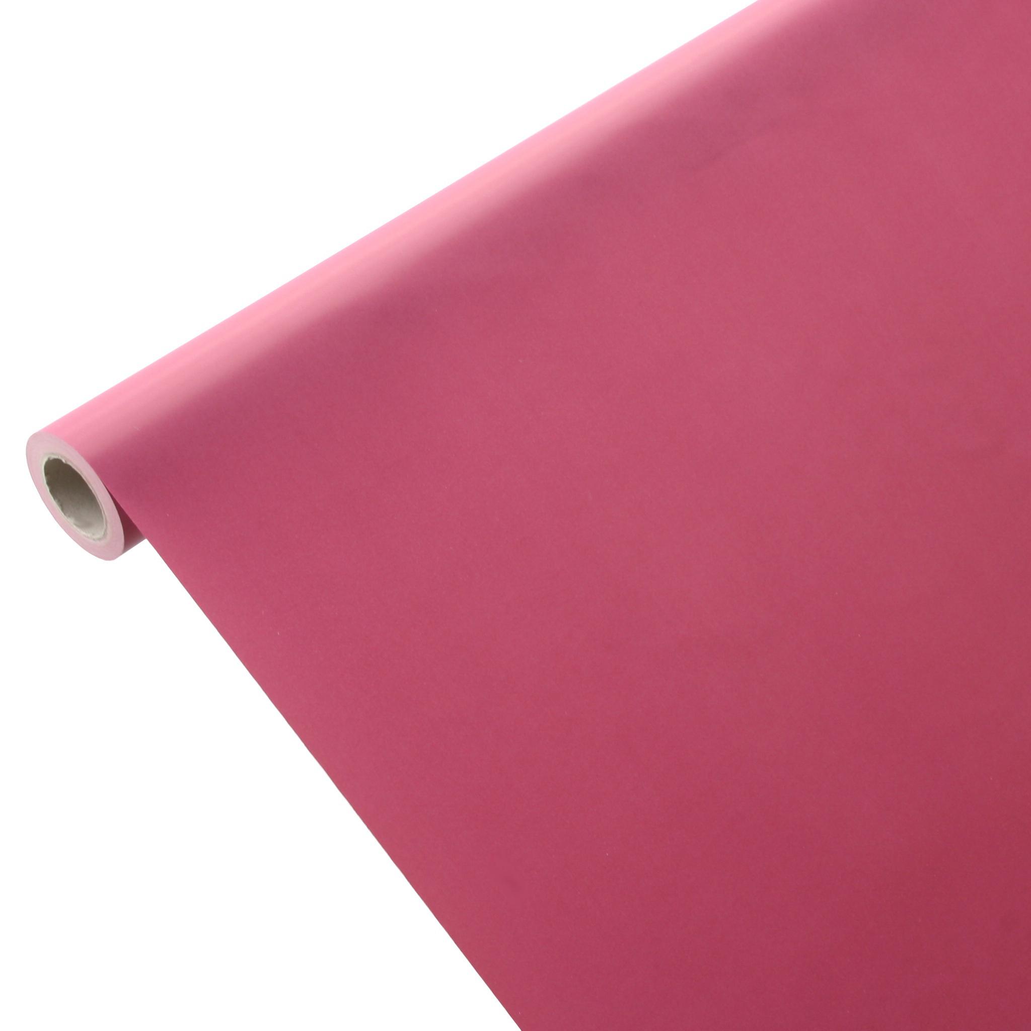 50m*0,75m JUNOPAX® Papiertischdecke bordeaux-rot