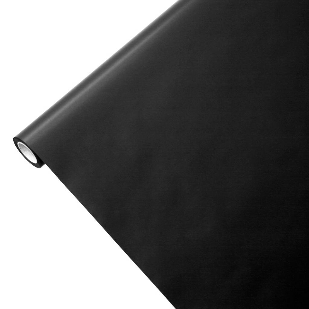 50m*1,00m JUNOPAX® Geschenkpapier schwarz