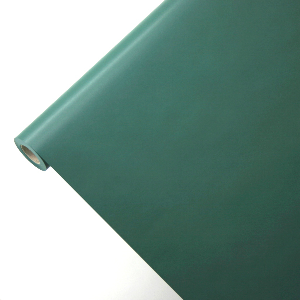 50m*1,00m JUNOPAX® Geschenkpapier dunkelgrün
