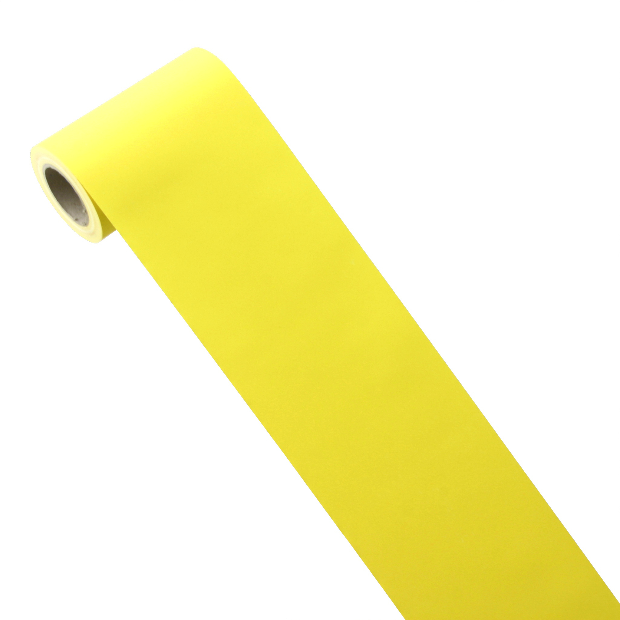 50m*0,20m JUNOPAX® Papier Tischband zitronen-gelb
