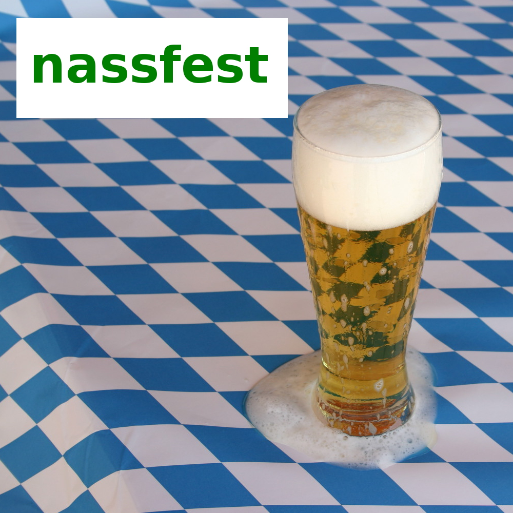 0,49€//m²  50m x 1,15m weiß blau JUNOPAX Papiertischdecke Oktoberfest Bayern Deko