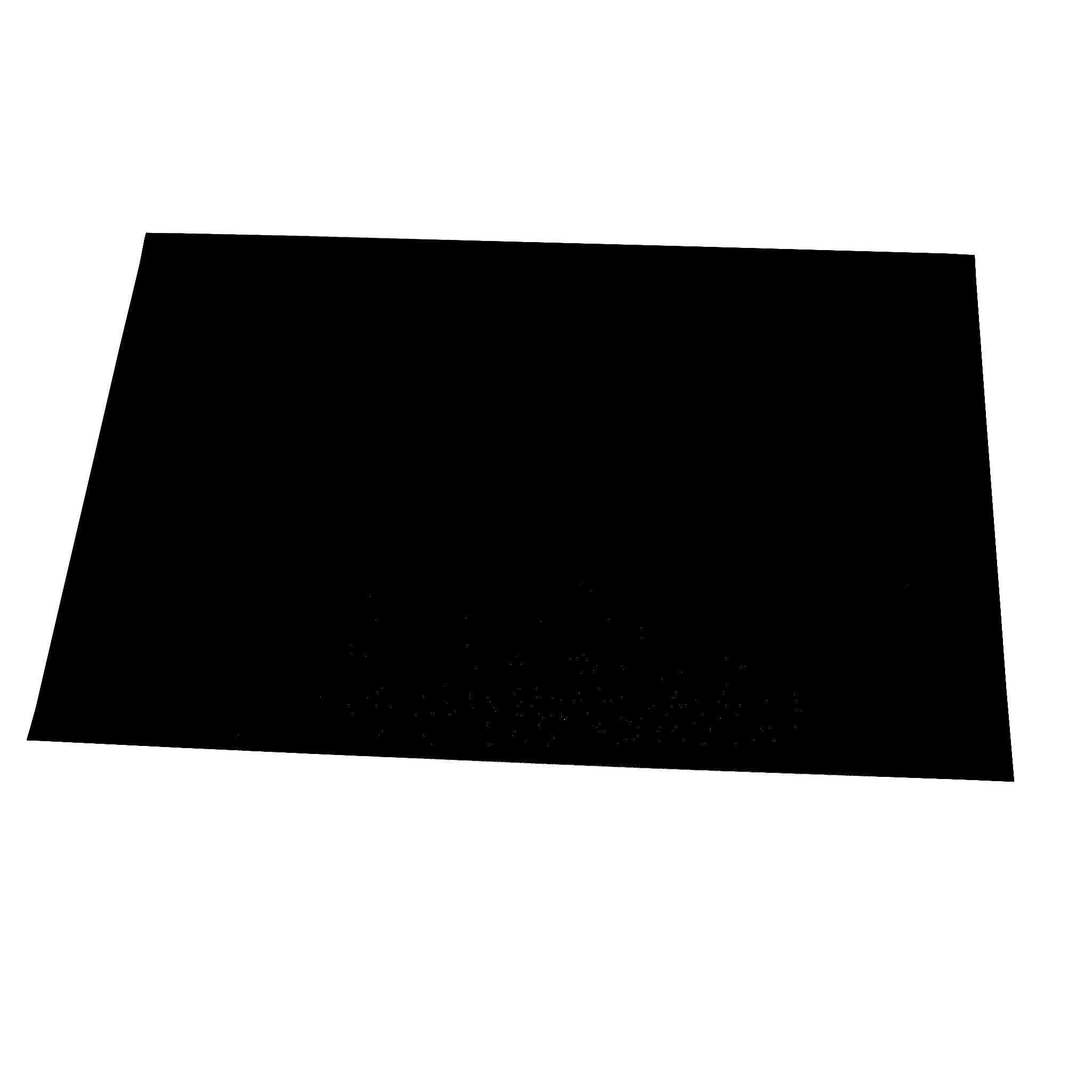 100 JUNOPAX® Platzdecken Tischsets schwarz
